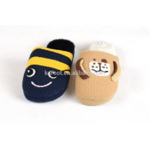 funny cute audit warm mother and kid child plush indoor slipper
