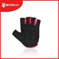 Guantes de deporte de microfibra Body Building Finger Girls Crossfit con tapa superior