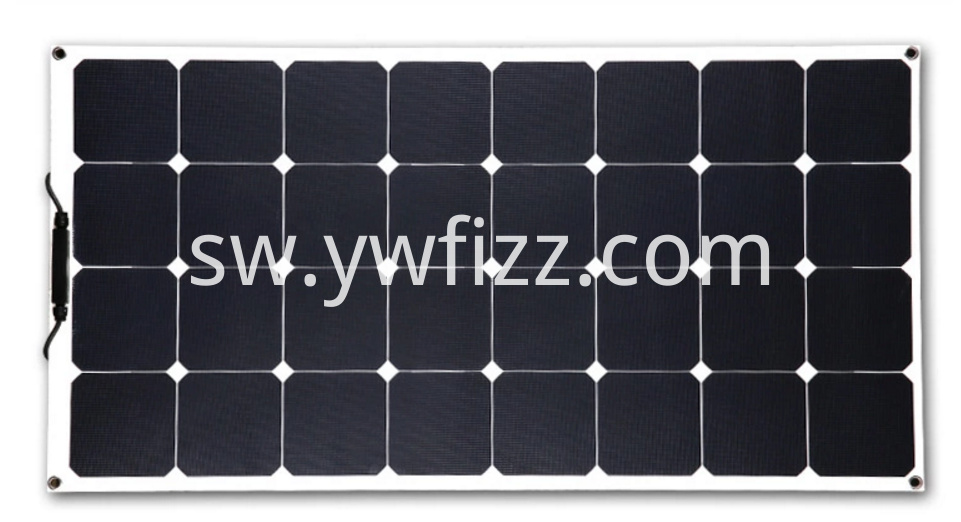 Waterproof Semi Flexible Solar Panel