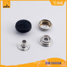 Bouton en nylon à laiton en métal pour la veste BM10806