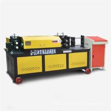 Enderezadora de barra de acero hidráulica y cortadora para barras de refuerzo de 14 mm, 55 m / min