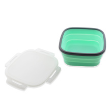 Silicone Food Storage Collapsible Container Lunch Box