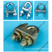 Factroy Supplier Rigging Galv Malleable U. S. Type Wire Rope Clip