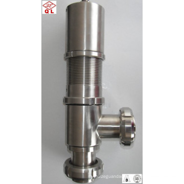 Stainless Steel Sanitary pneumatic Hydraulic Pressure Control Valve