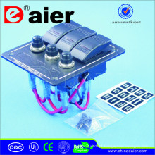 Interruptor de balancim do diodo emissor de luz IP68 / painel do interruptor