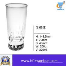 Прозрачный стеклянный стакан воды Кубок виски Кухонная посуда Kb-Hn0359