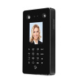 Touch Panel face recognition door access control system and time recorder