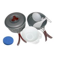 Hard-Anodized Outdoor Aluminum Cookware Set