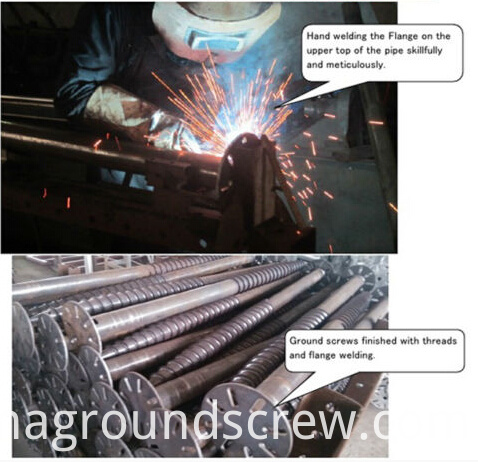 ground screw anchor