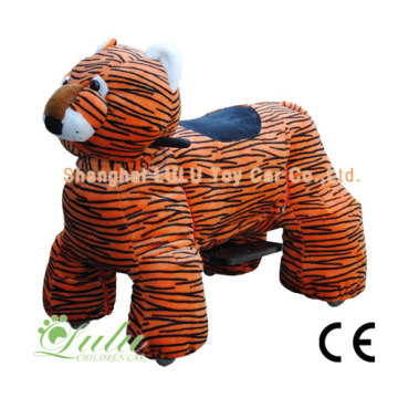 tiger walking animal rides