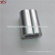 Nós mangas de hourglass ferrules de alumínio