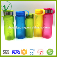 PCTG bouteille d'alcool en plastique transparent à bouteilles en plastique pour boire