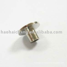 Remache de placa de tuerca de acero niquelado Faston no estándar