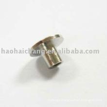 Nonstandard Faston Nickel Plated Steel Nut Plate Rivet