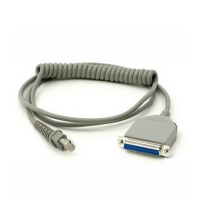 For Scanner Coiled Cable USB Connector