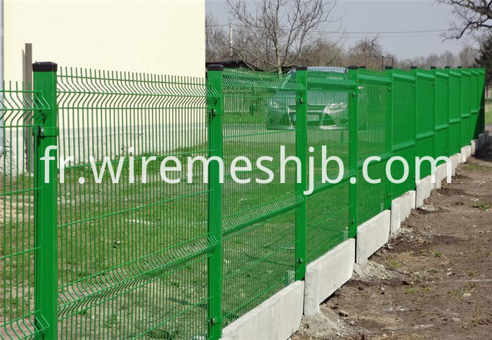 PVC Coated Welded Mesh Fence