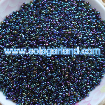 11/0, 8/0, 6/0 Size Fancy Glass Seed Beads Seed Beads In Bulk
