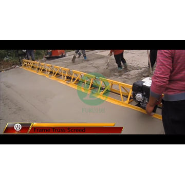 Factory Supply 12m Vibratory Concrete Truss Screed (FZP-130)