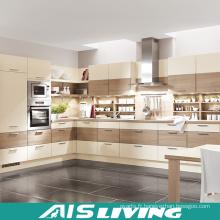 L en bois en forme de meubles de placards de cuisine (AIS-K297)