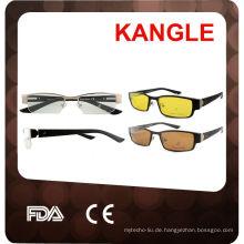 Brillengestelle mit Clip auf