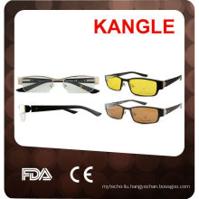 eyeglass frames with clip on