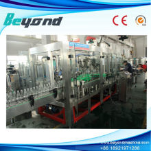 4-in-1 Glasflasche Beer Filling Capping Machinery