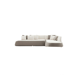 Appuie-tête rabattable L Shape Fabric Sectional Soho