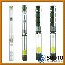Погружной насос для скважинных скважин (QJ)