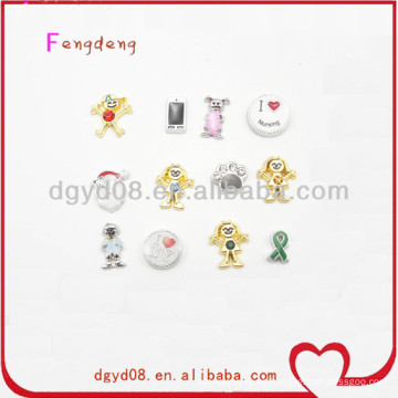 charms flotantes locket al por mayor