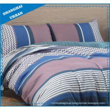Patchwork Patterns Printed Polyester Duvet Cover Set