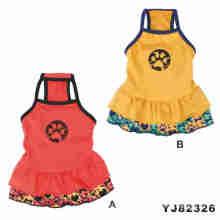 Patrones de vestir para perros, tela para ropa de mascotas (yj82321)