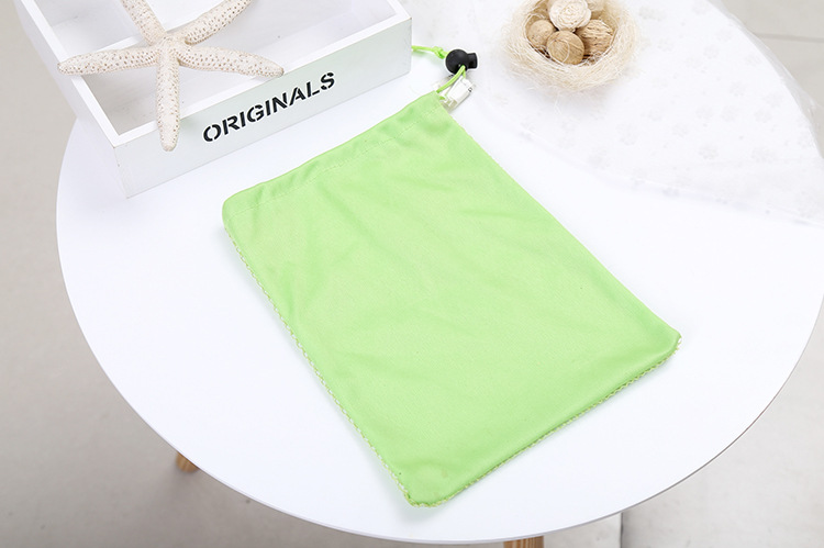 Cosmetic Drawstring Mesh Bag