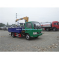 CLW small 4x2 truck mounted crane