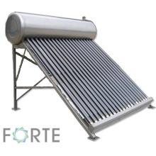Niederdruck-Edelstahl-Solarthermie-Warmwasserbereiter