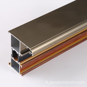 Thermal break extrusion of aluminium alloys