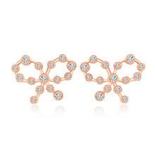 18k gold filled bowknot fashion jewelry set for women