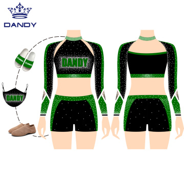 Free Design Sublimation Hochwertige Cheerleader-Uniformen