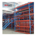 Custom Long Span Display Racks Industrial Mezzanine Floor