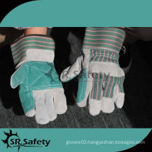 SRSAFETY Suitable prices for cow skin gloves winter leather gloves with china supplier