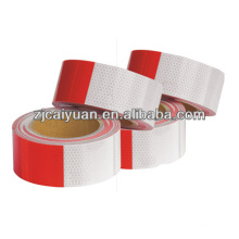 Reflective Conspicuity Tape,Red/white Reflective Tapes for vehicles