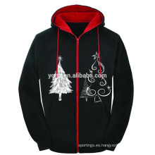 Sudadera con capucha de venta de promoción de venta grande con capucha de venta de Navidad