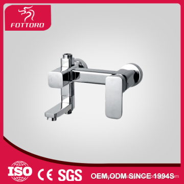 Горячие продажи Латунь хром ванной настенный кран MK11207