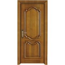 Interior porta sólida porta de madeira composta