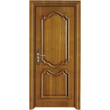 L'intérieur porte massif en bois composite porte