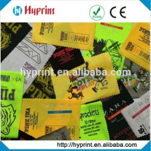 heat transfer labels for clothing care label transfer
