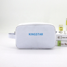 Best Selling White Promotional Gifts Make up Wash Toiletry Bag Custom Logo Fashion Women Travel Cosmetic Bag