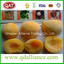 Frozen Yellow Peach Halves IQF Yellow Peach
