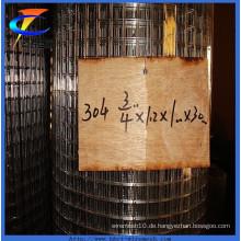 Hot Sales 304 geschweißte Wire Mesh Factory
