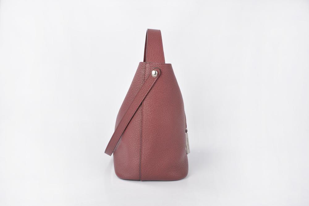 New Design Women Ladies Leather Shoulder Bucket Bags