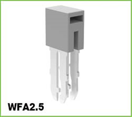 Fixed Bridge for DIN Rail Terminal Blocks 2.5mm2